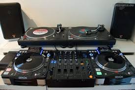 denon s3700 and turntables